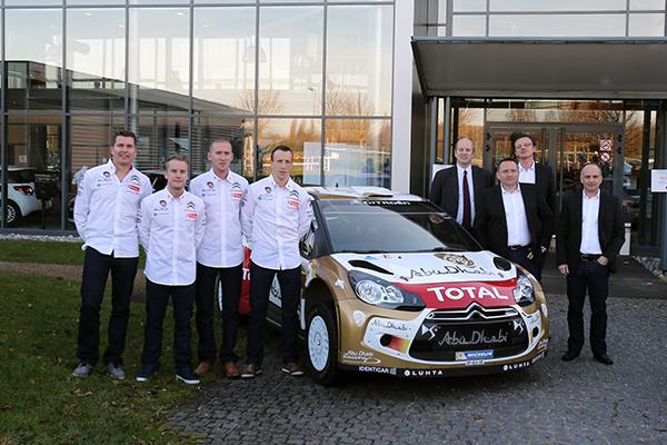 WRC-les-equipages-CITROEN-2014-Présentaion-lundi-16-decembre-a-SATORY-photo-Gilles-VITRY-pour-autonewsinfo