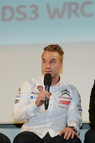 WRC-les-pilotes-CITROEN-2014-Présentaion-lundi-16-decembre-a-SATORY-Mads-OSTBERG-photo-Gilles-VITRY-pour-autonewsinfo