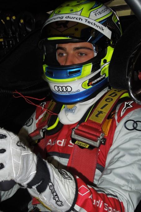 Nico MULLER en test avec AUDSI DTM