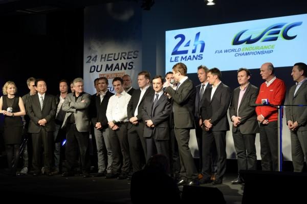 ACO-Conference-de-presse-13-fevrier-Les-Teams-et-pilotes-avec-le-Président-FILLON-Photo-Max-MALKA