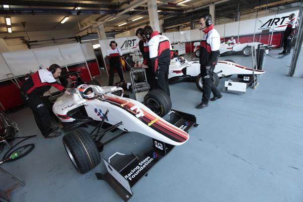 ARTGP  - Stand en GP3 en 2013-