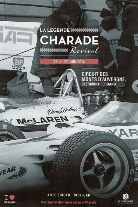 CHARADE REVIVAL 2014 Affiche