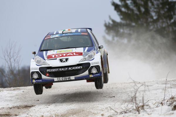 ERC-2014-Rallye-Liepaja-Craig-Breen-avec-sa-PEUGEOT-207-S2000