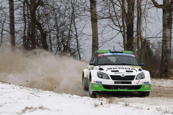 ERC-2014-Rallye-Liepaja-Esapekka-Lappi-victorieux-avec-sa-SKODA-Fabia.