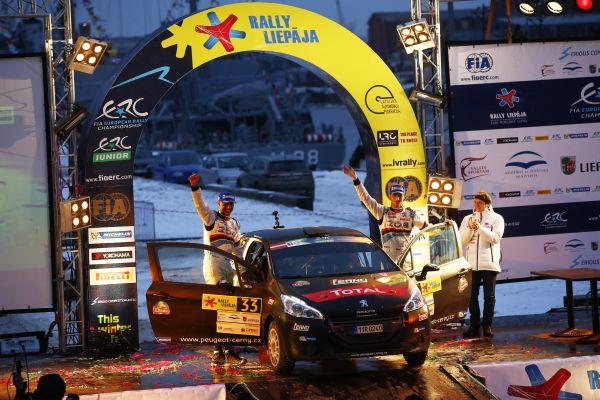 ERC-2014-Rallye-Liepaja-Jan-Cerny-vainqueur-en-Junior