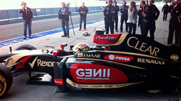 F1 2014 JEREZ 8 fevrier essai LOTUS
