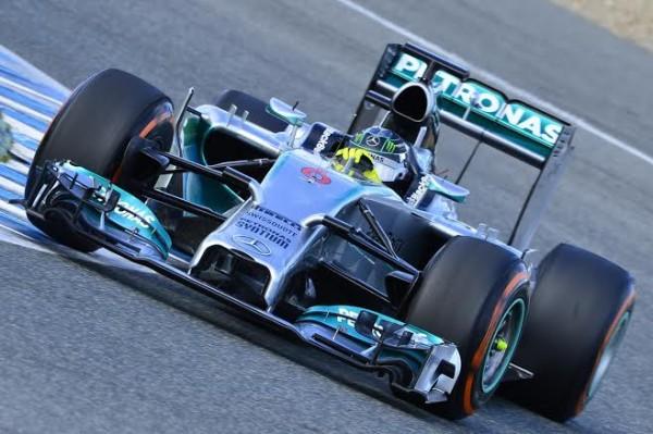 F1-2014-JEREZ-MERCEDES-de-ROSBERG-le-29-janvier-Photo-Max-MALKA