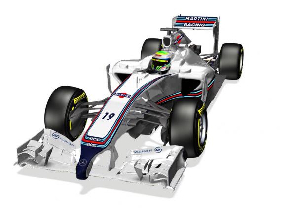 F1 2014  -  La WILLIAMS aux couleurs de MARTINI ? Bientôt une réalité !