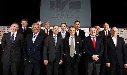 Les équipes de la FOTA
