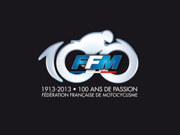 FFM  - 100 ANS DE PASSION logo