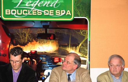 LEGEND BOUCLES SPA   Pierre Delettre  Avec mrs Dewilde et Luw.