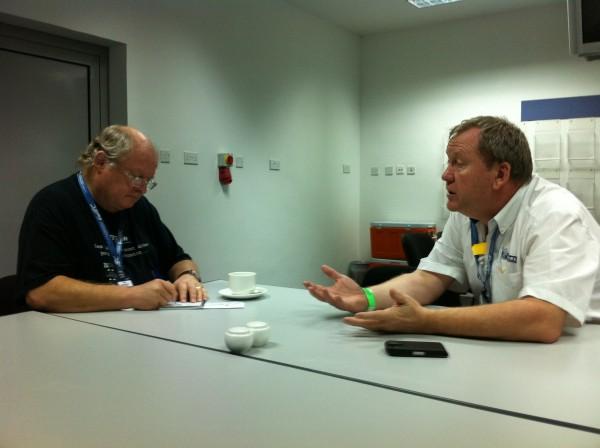 MICHELIN - Entretien avec Pascal COUASNON à BAHREIN le 30 novembre 2013 - Photo Jean Michel LE MEUR DPPI.