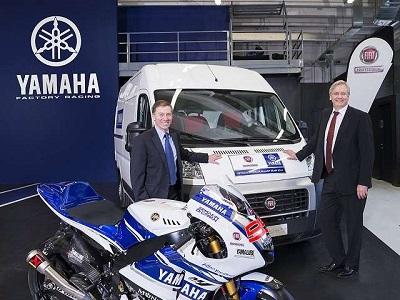 MOTO GP 2014 - FIAT retrouve le Team YAMAHA