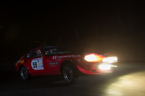 LA DATSUN 240Z DES BELGES NICOLAS-CHAIDRON