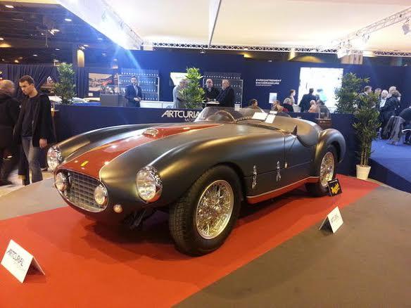 Rétromobile-2014-Artcurial-Ferrari-166-MM-barquette-par-Oblin