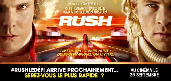 RUSH affiche film