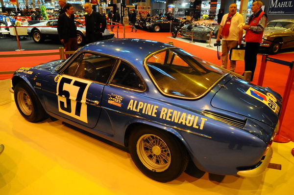 Retromobile-2014-Alpine-Berlinette-1440-Vinatier-Jacob-1er-tour-de-corse-1968-Collection-Rédélé-propriétaire-Herve-Charbonneaux