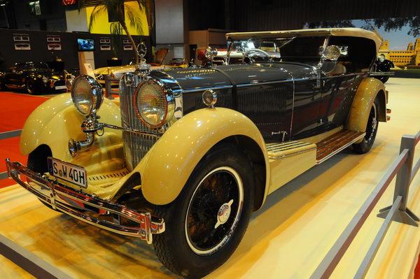 Retromobile-2014-La-Mercedes-de-un-des-Maharajah