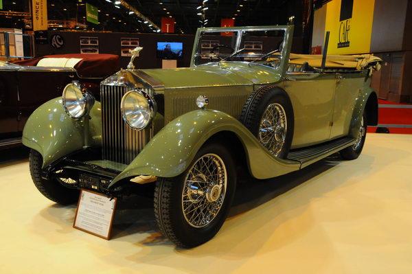 Retromobile-2014-Rolls-Roys-de-l-un-des-Maharadja