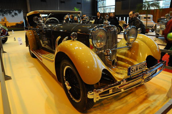 Retromobile-2014-Une-Mercedes-de-Maharadja