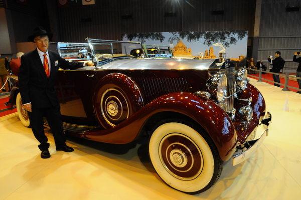 Retromobile-2014-Une-Rolls-Roys-Maharadja