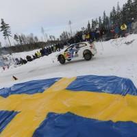 SUEDE 2013 WRC - La POLO  de Seb OGIER et Julien INGRASSIA