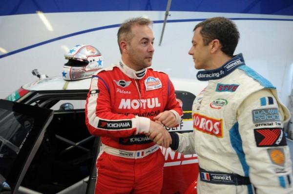 TROPHEE ANDROS 2013-2014 - Jean Philippe DAYRAUT et Franck LAGORCE - les deux premiers