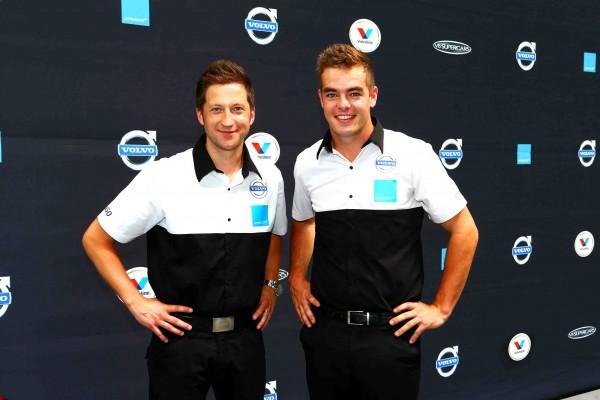 V8 2014 Les pilotes GRM Robert DALHGREN et Scott MC LAUGHLIN.