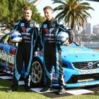 V8 2014  - les pilotes du Team GRM POLESTAR - Scott McLAUGHLIN et Robert DALHGREN