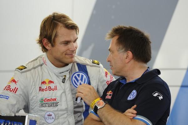 WRC-2013-CATALOGNE-VW-POLO-MIKKELSEN-avec-Jost-CAPITO-vendredi-25-octobre-Photo-Team