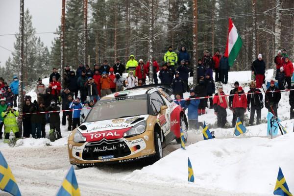 WRC-2014-SUEDE-AL-QASIMI-PATERSON-DS3-CITROEN-photo-Jo-LILLINI