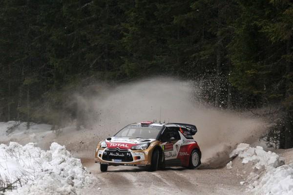 WRC 2014 SUEDE- CITROEN de Mads OSTBERG - photo Jo LILLINI.