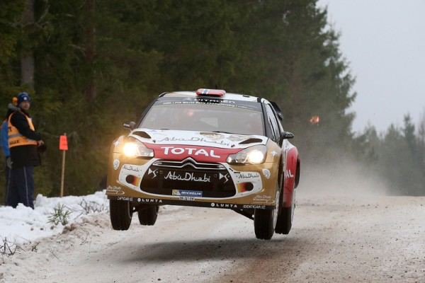 WRC-2014-SUEDE-DS3-OSTBERG-photo-Jo-LILLINI