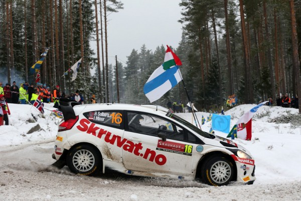 WRC-2014-SUEDE-FORD-Fiesta-Henning-SOLBERG-photo-Jo-LILLINI.