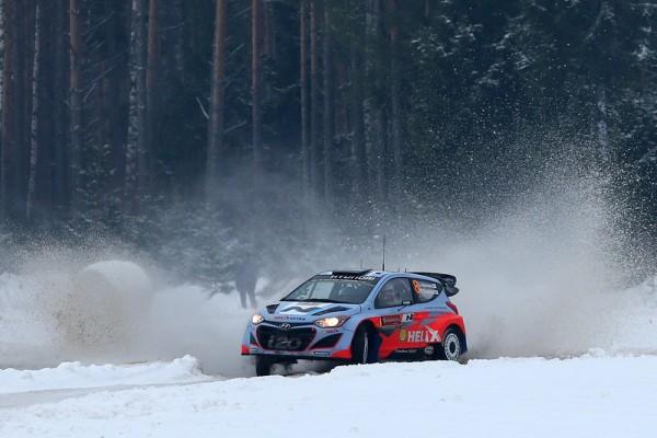 WRC 2014 SUEDE HYUNDAI de HANNINEN Photo Jo LILLINI