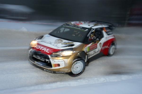 WRC-2014-SUEDE-Mads-OSTBERG-et-sa-DS3-Citroen-WRC-photo-Jo-LILLINI.