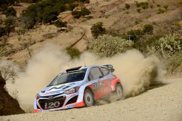 WRC 2014 Rallye MEXIQUE Thierry Neuville Team Hyundai
