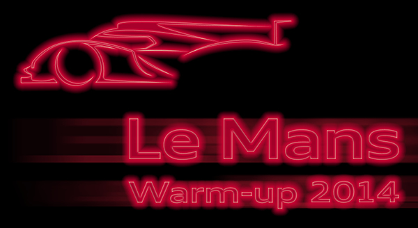 24 HEURES DU MANS 2014  AUDI LEMANS WARM UP 25 MARS