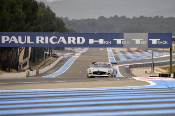 BLANCPAIN 2014 MERCEDES SLS AMG GT3 Team Black Falcon de Abdulaziz Al Fausal et Hubert Haupt et Andreas Simonsen.
