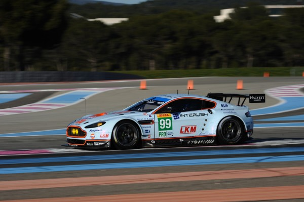 WEC-2014-PROLOGUE-au-PAUL-RICARD - ASTON MARTIN Vantage V8  N° 99 Photo-Antoine-CAMBLOR