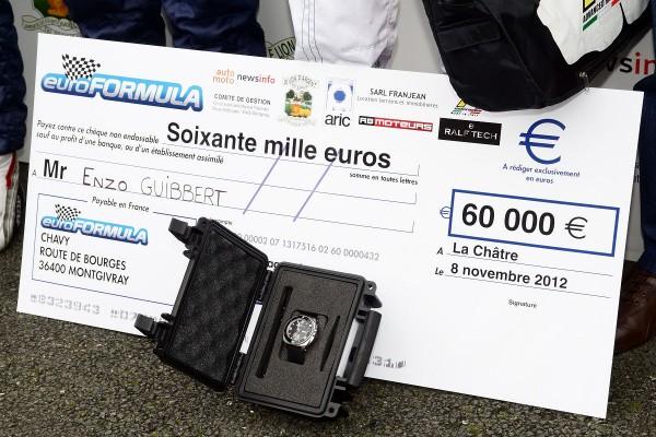 EURO FORMULA 2013 le checos et la montre RALPH TECH