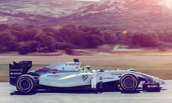 F1  2014 La WILLIAMS MERCEDES MARTINI