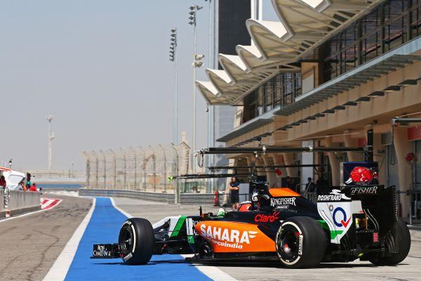 F1-2014-Test-BAHREIN-FORCE-INDIA-MERCEDES-Nico-HULKENBERG