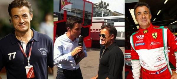 F1  JEAN ALESI  rejoint CANAL +