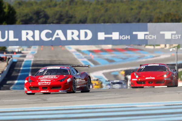 GT TOUR 2012 Finale PAUL RICARD Course 2 FERRARI F458 DEBARD PANIS Photo Gilles VITRY