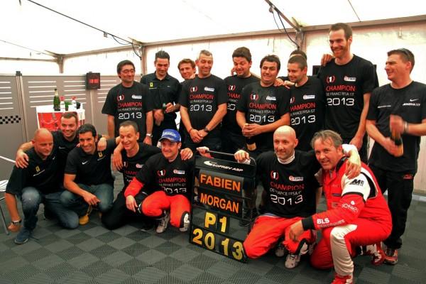 MOTORSPORT - GT TOUR 2013 - PAUL RICARD - LE CASTELLET (FRA) - 25 TO 27/10/2013 - PHOTO  MICHEL POUPINEAU / DPPI -  MOULLIN TRAFFORT MORGAN / FERRARI 458 ITALIA SOFREV ASP - AMBIANCE - PORTRAIT BARTHEZ FABIEN / FERRARI 458 ITALIA SOFREV ASP - AMBIANCE - PORTRAIT