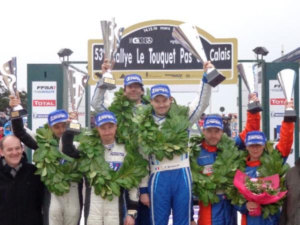LE-TOUQUET-2013-Podium-final-les-trois-premiers-équipages