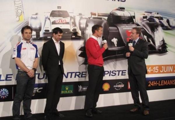 Nicolas-Lapierre-Toyota-Neel-Jani-Porsche-Marcel-Fässler-Audi-Fabrice-Bourrigaud-Directeur-Pôle-Esprit-Le-Mans-ACO