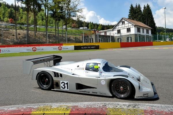 SPA CLASSIC 2013 Evans vainqueur en Groupe C-© Manfred GIET.