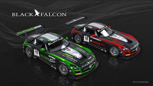 TROPHEE BLANCPAIN 2014 - LE Team BLACK FALCON